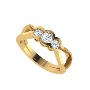Sparkling Love Solitaire Ring