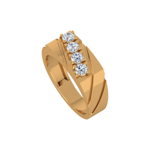 Golden Parade Gold Diamond Ring