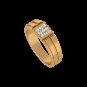 The Magic Ways Gold Diamond Ring