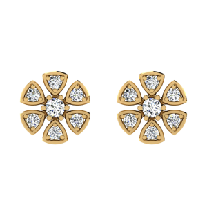 The Perfect Spice Diamond Stud Earrings