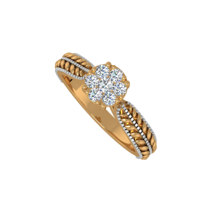 The Sensation Gold Diamond Ring