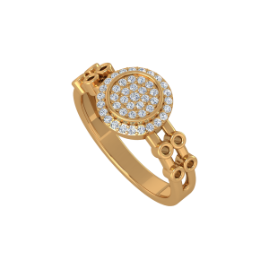 The Cosmic Parade Gold Diamond Ring