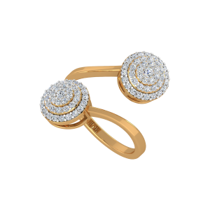 The Diamond Delights Gold Diamond Ring