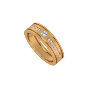 All Eyes On Me Gold Diamond Ring
