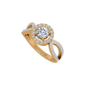 The Solitaire Sage Gold Diamond Ring