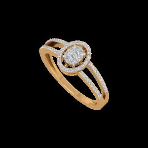 The Perfect Entourage Gold Diamond Ring