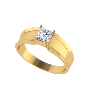 The Significance Princess Cut Diamond Solitaire Ring