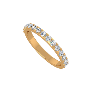 The Classic Zest Gold Diamond Ring