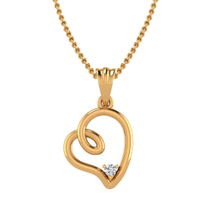 The Soul of Heart Diamond Pendant