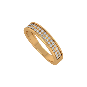 The Glitter Gallery Gold Diamond Ring