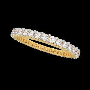 The Moonlight Dance Diamond Ring