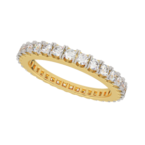 The Ever Eternity Gold Diamond Band
