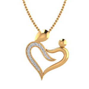 The Mothers Love Diamond Pendant