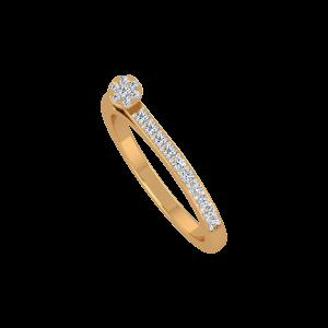 The Sweet Shine Gold Diamond Ring