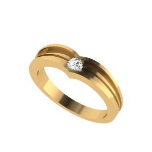 The Mini Solitaire Diamond Ring