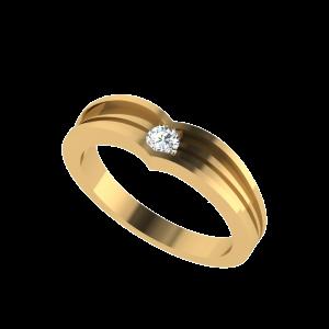 The Mini Solitaire Diamond Ring