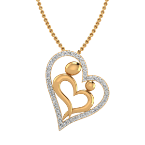 The Best MoM Diamond Pendant