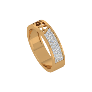 The Intriguing Gold Diamond Ring