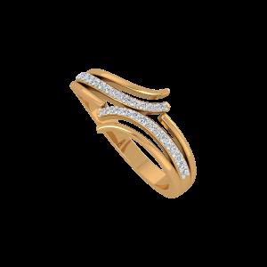 Golden Fingers Gold Diamond Ring