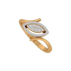 The Diamond Eye Gold Diamond Ring