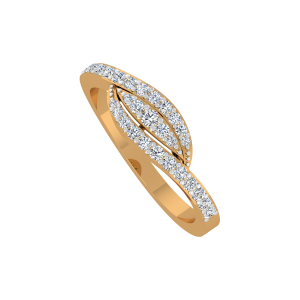 The Millennial Gold Diamond Ring