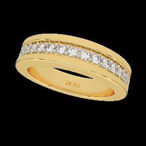 The Europa Half Eternity Diamond Ring