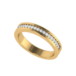 The Europa Half Eternity Diamond Ring