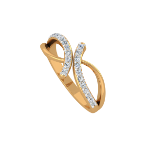 The Joy Merger Gold Diamond Ring