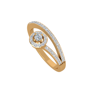 The Dream Mate Gold Diamond Ring