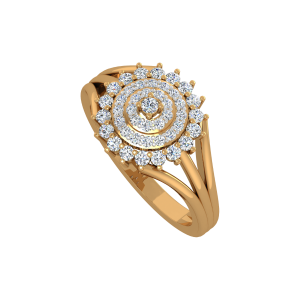 Cool Panache Gold Diamond Ring