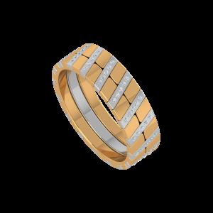 The Zig Zig Ways Gold Diamond Ring