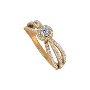 The Expressions Gold Diamond Ring
