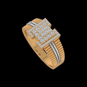 The Golden Moment Gold Diamond Ring