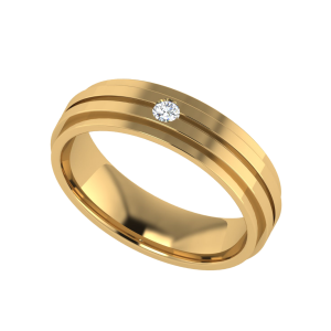 The Titan & Lo Diamond Band Ring