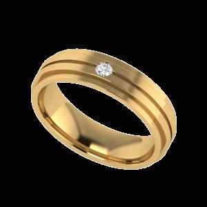 The Titan & Lo Diamond Band Ring