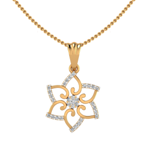 The Floral Kingdom Diamond Pendant