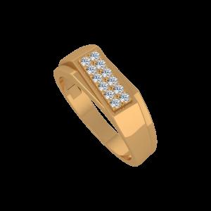 My Choice Gold Diamond Men's Ring