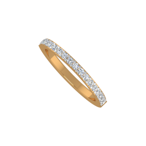 The Urban Band Gold Diamond Eternity Ring