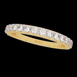 The Urban Band Gold Diamond Eternity Ring