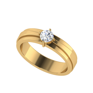 Made For Each Other Solitaire Diamond Ring