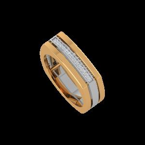 The Formal Fashion Gold Diamond Ring