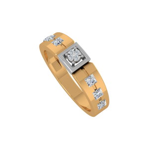Diamonds Frames Gold Diamond Ring