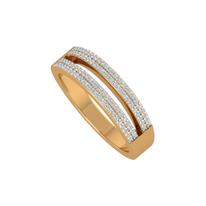 The Sassy Ways Gold Diamond Men's Ring