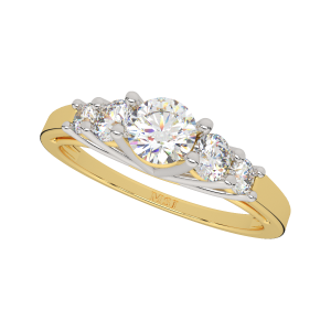 As Clean As A Solitaire Gold Diamond Ring