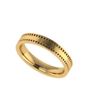 Double Dot Dash Forever Gold Band