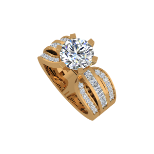 The Supreme Solitaire Gold Diamond Solitaire Ring