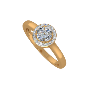 The Marquise Treasure Gold Diamond Ring