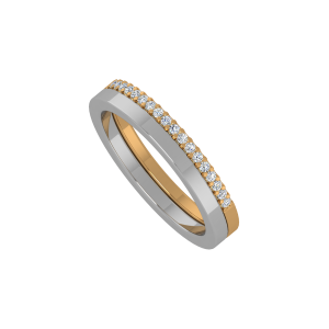 Like To Love Gold Diamond Ring