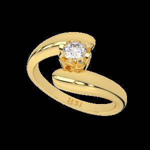 Epic Romance Gold Diamond Ring