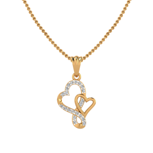The Hearts Club Diamond Pendant